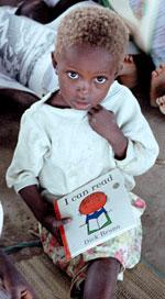 Un niño con futuro gracias a la ayuda de todos nosotros