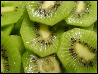 Alto porcentaje de presencia de Vit C en el Kiwi