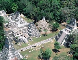 Ruinas Mayas en Guatemala