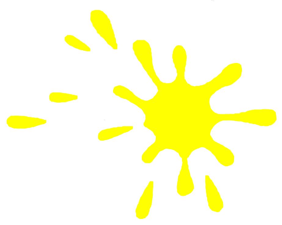 Afbeeldingsresultaat voor gele spetter