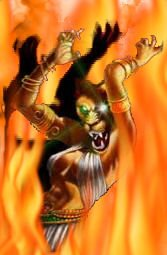 The Flames of Sekhemet