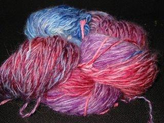 Oven Dyed sock yarn