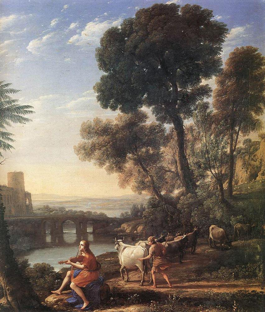 History Of Art Claudian Landscape