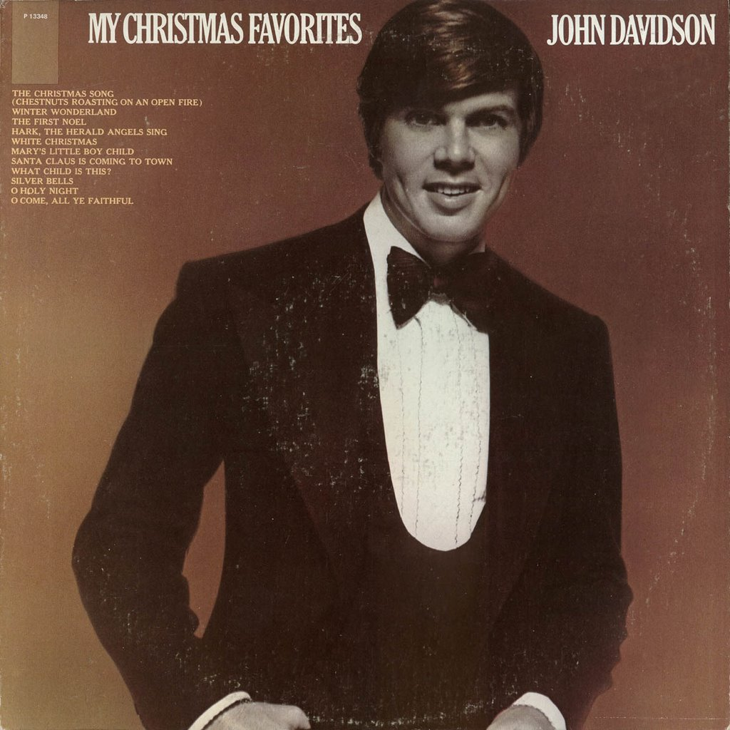 A Christmas Yuleblog: John Davidson - My Christmas Favorites