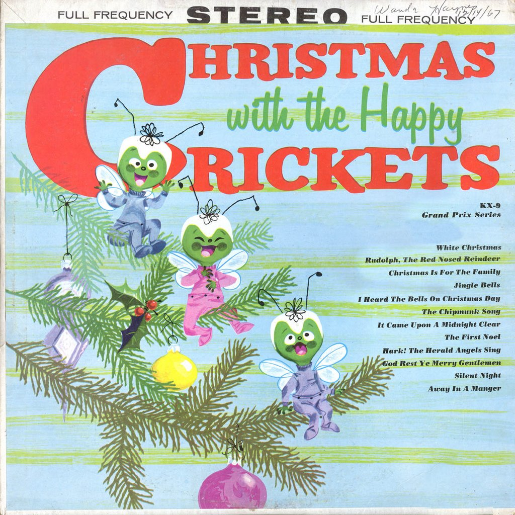 A Christmas Yuleblog: The Happy Crickets - Christmas With