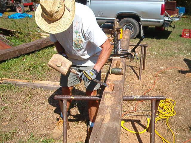 Up the Creek . . .: Timber framing 101 -Mortises