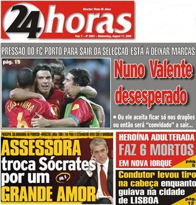 Jornal 24 Horas 17-08-2005