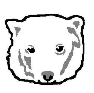 apriKot DIY: Polar Bear Stencil Shirt