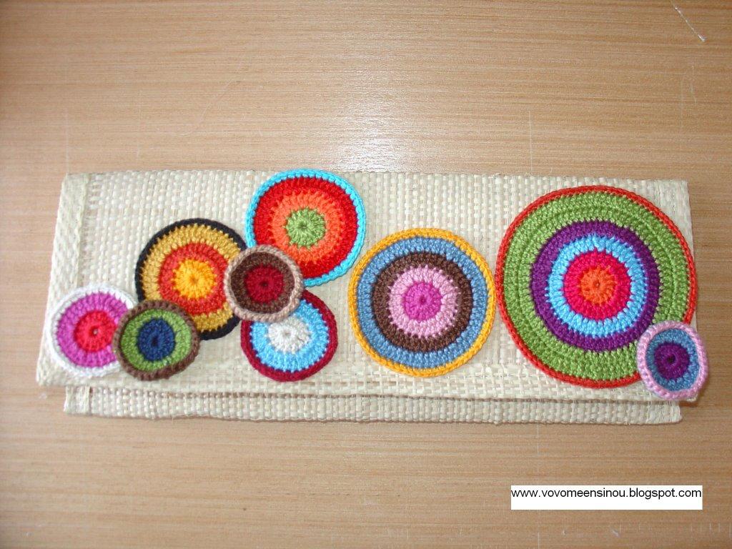 Bolsa De Mão Em Crochet : Vov? me ensinou august