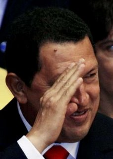 Picture: Hugo Chavez in the 2006 Havana Non-Aligned Movement Summit (2)
