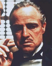 Picture: Don Corleone from the movie The Godfather