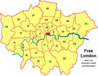 Picture: Map of London
