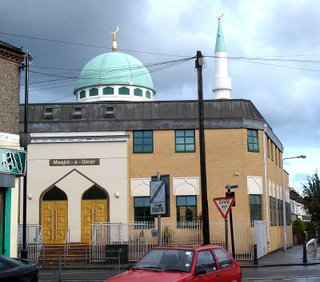 Picture: Masjid-e-Umer Mosque at Walthamstow, London