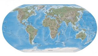Picture: Map of the world