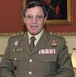 El teniente general, José Mena Aguado