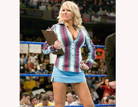 Lilian Garcia Is It A Man Or An Ugly Women This Is A Classic Transvestite Pose Using The Logic In These Tight Pants I Cant Have A Penis Youd Be