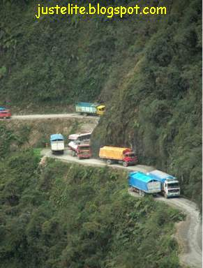Bolivian road