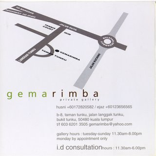 Map to GemaRimba