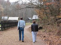 E and his Mom visit The Homeplace, a 19th century farm