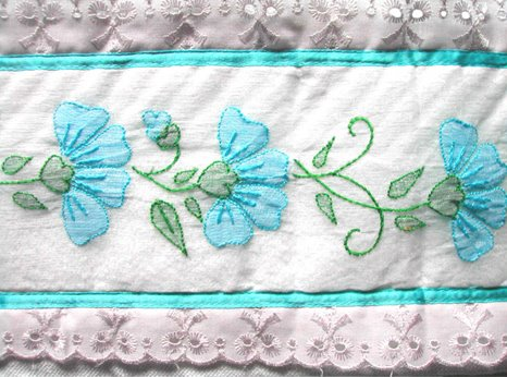 Rang the colours of life hand towels from awwa simple white hand towels made interesting by this delicate touch of shadow work embroidery interesting find at awwa army wives welfare association shop dt1010fo