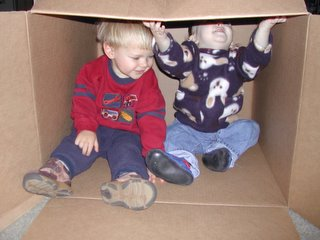 (boys in a box photo)