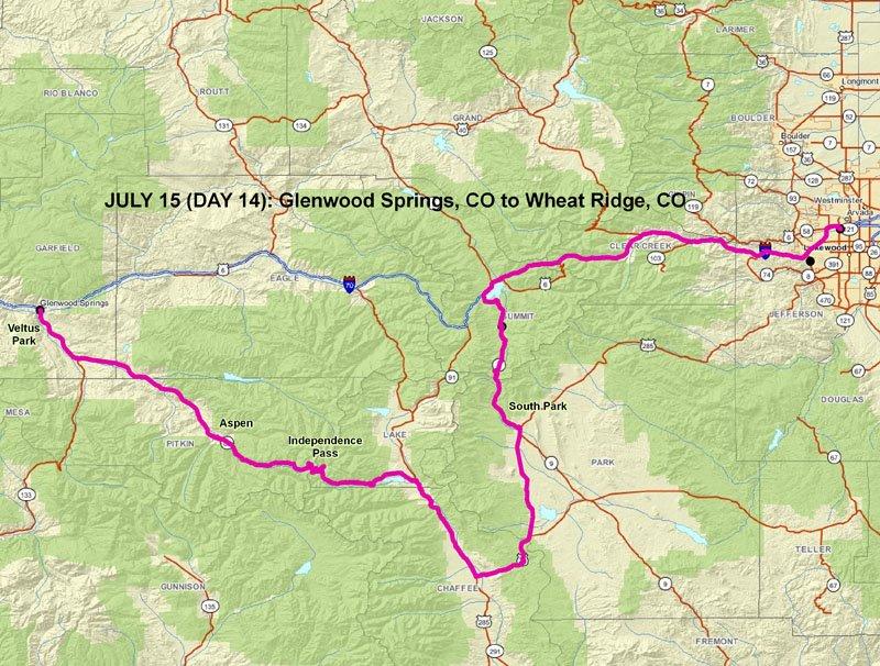 Glenwood Springs Elevation : Greg s july  glenwood springs birding