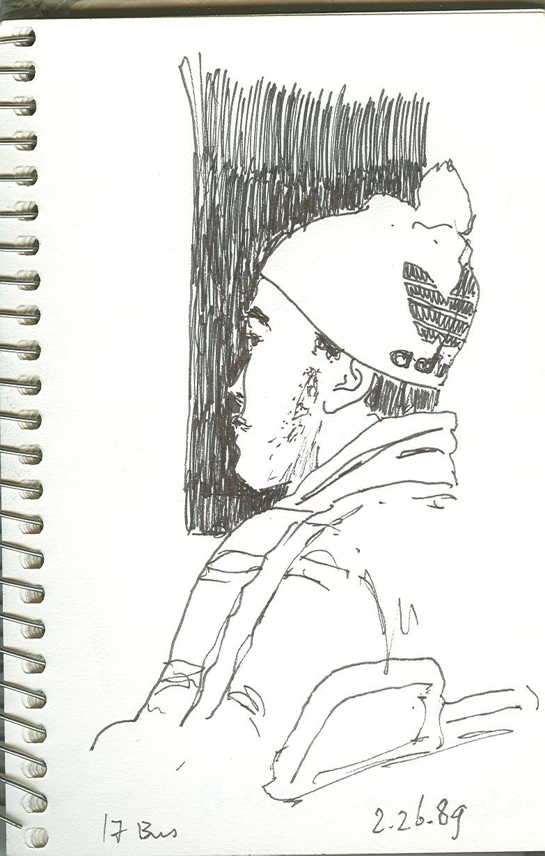 Brotha in Adidas cap
