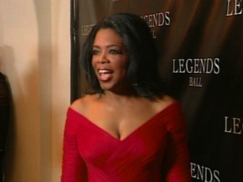 Oprah at the Legends Ball