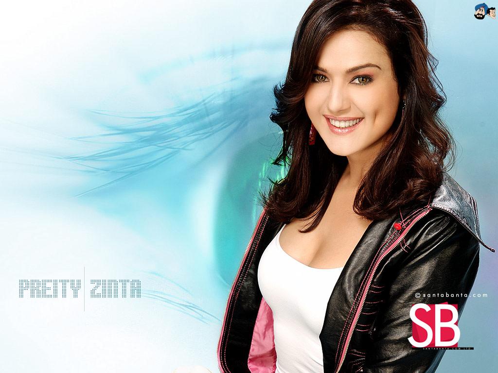 Santabanta Bollywood Wallpapers Preity Zinta Simply Cute