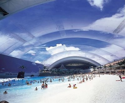 World's Largest Man-Made Beach
