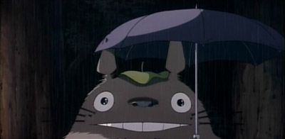 Totoro likes the sound