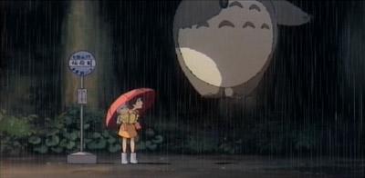 Totoro jumps