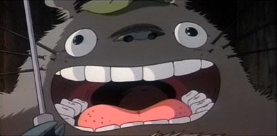Totoro delighted