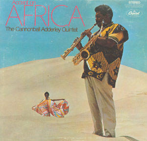 Cannonball Adderley LP -- Accent on Africa