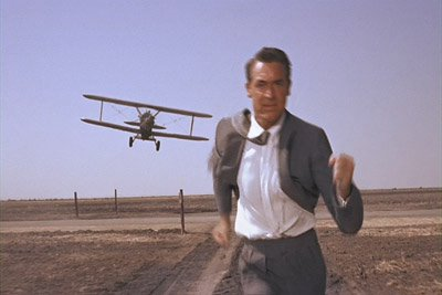crop duster chase scene in North by Northwest