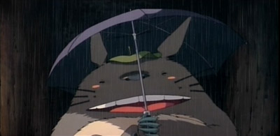 Totoro likes the sound