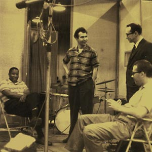 Eugene Wright, Dave Brubeck, Paul Desmond, and Joe Morello