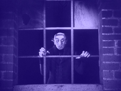 Nosferatu at window