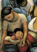 La Noche de los Pobres. Diego Rivera
