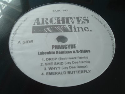 Pharcyde, The - Labcabin Remixes & B-Sides