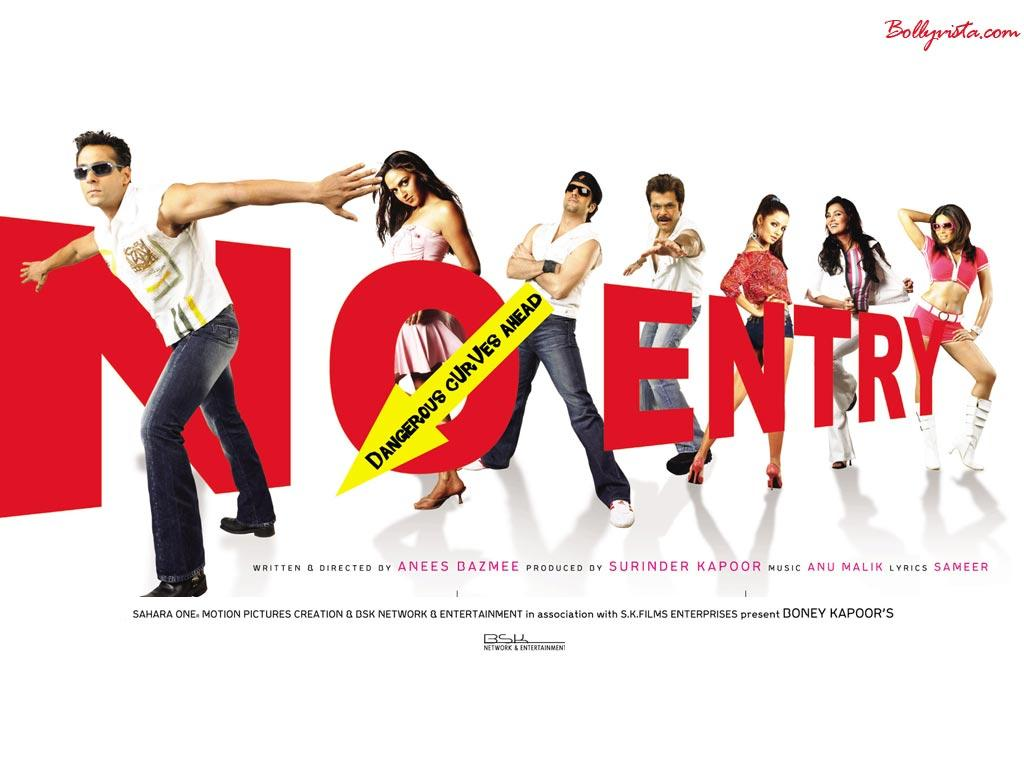 two Hindi Movies. No Entry