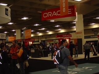 Oracle booth