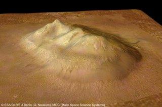 La cara en Marte