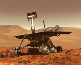 Rover Spirit de la NASA