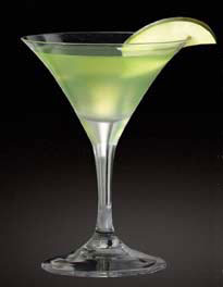 Martini de manzana verde