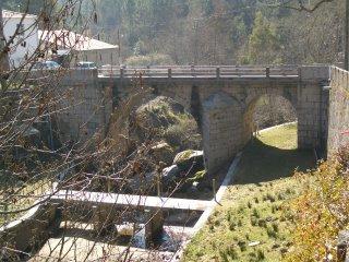 Ponte sobre o Rio Alva - Foto de CMatos