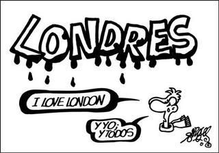 viñeta de forges londres I love London Y yo y todos