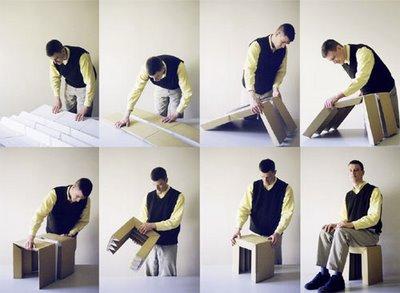 design boom cardboard