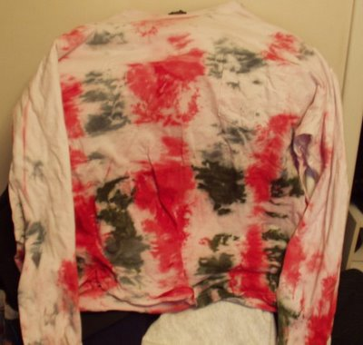 Christmas Tie Dye