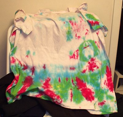 Christmas Tie Dye, part deux